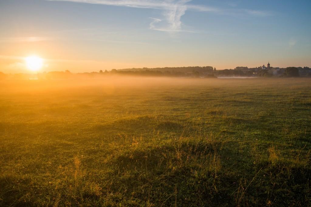 Утренний рассвет во Владимирской области 07