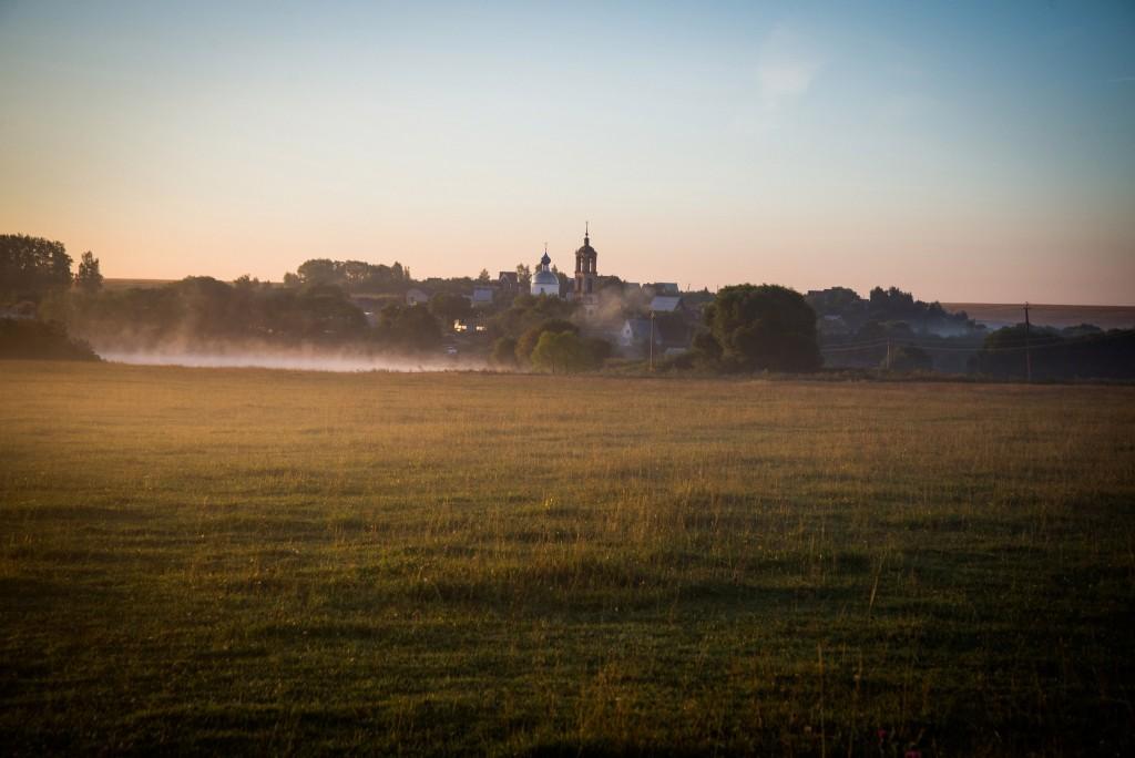 Утренний рассвет во Владимирской области 10