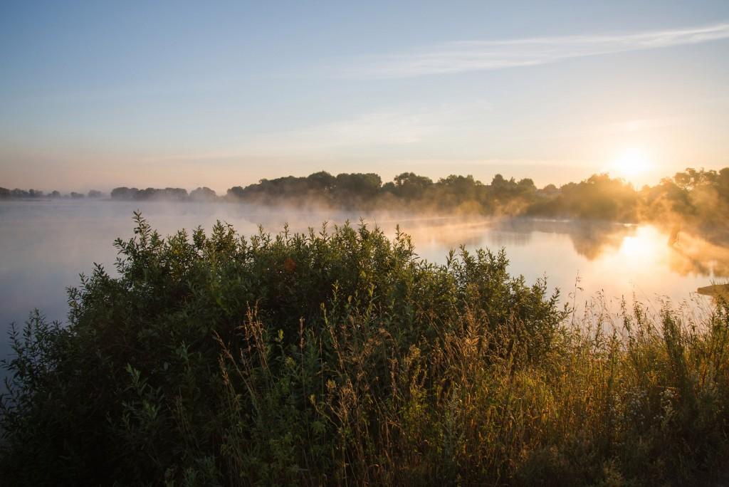 Утренний рассвет во Владимирской области 12
