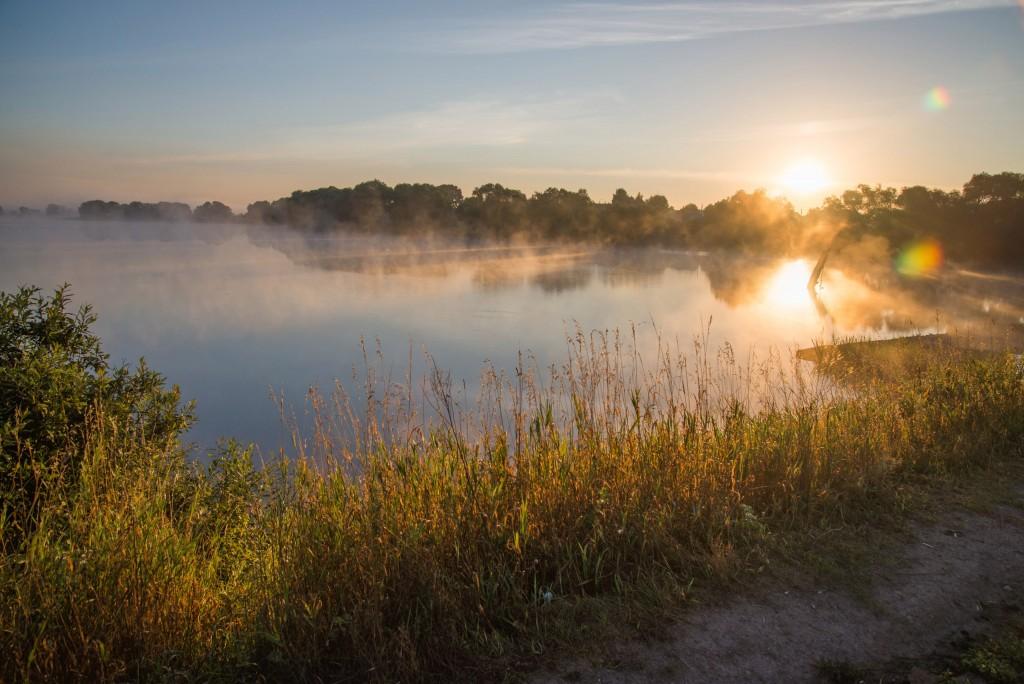 Утренний рассвет во Владимирской области 13