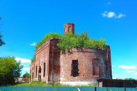 Церковь Казанской Богоматери в с. Драчево Селивановского района