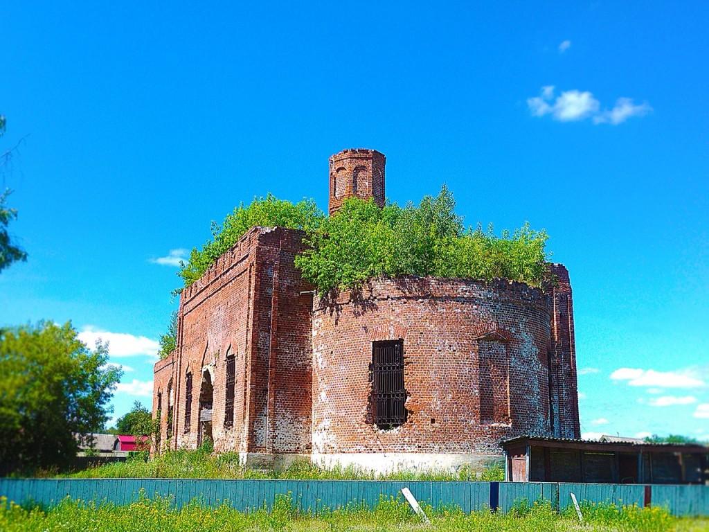 Церковь Казанской Богоматери в с. Драчево Селивановского района 01