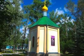 Часовня Николая Чудотворца поселок Красная Горбатка