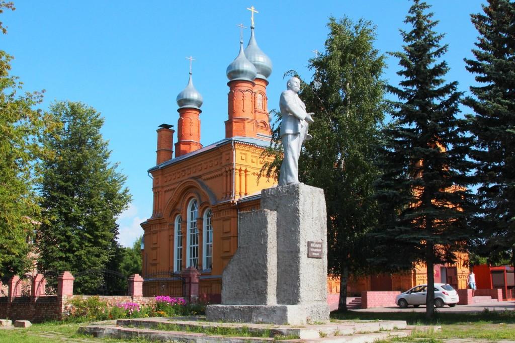 церкви, достопримечательности, Камешково