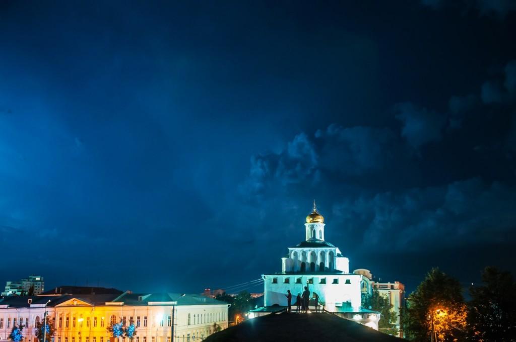 08.08.2016 Грозовые тучи над Владимиром 08