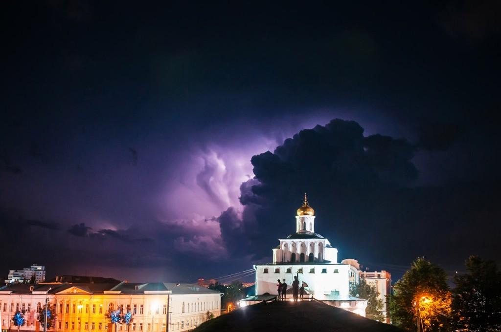 08.08.2016 Грозовые тучи над Владимиром 09