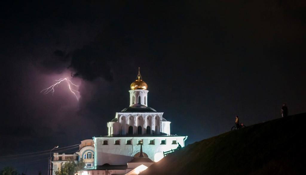 08.08.2016 Грозовые тучи над Владимиром 14