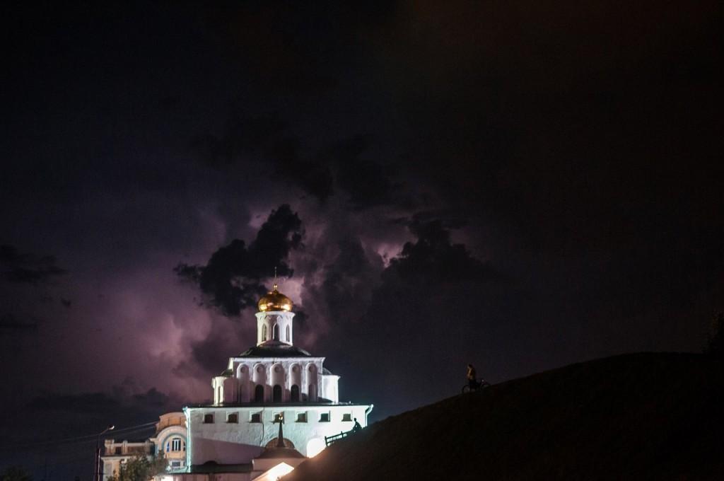 08.08.2016 Грозовые тучи над Владимиром 15