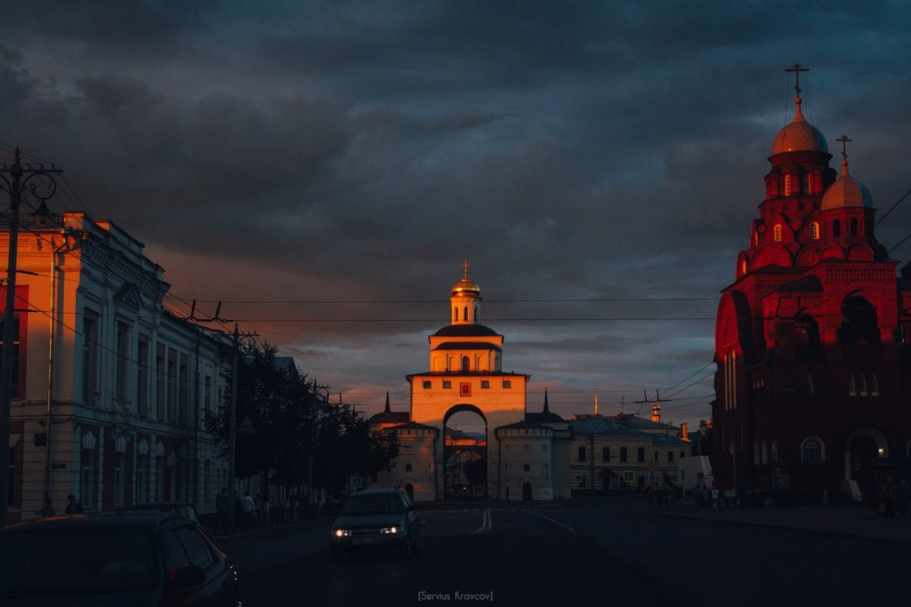 Vladimir City. Color Clouds 01