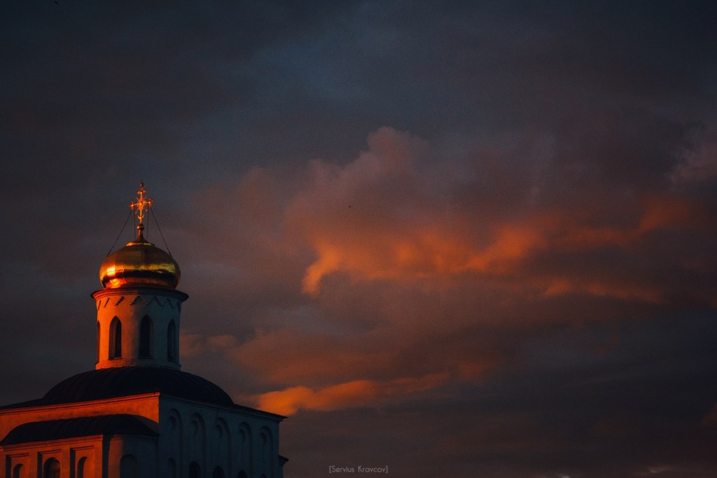 Vladimir City. Color Clouds 02