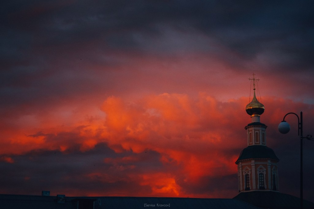 Vladimir City. Color Clouds 07
