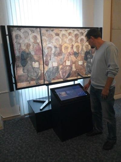 Андрей Рублёв в Картинной галерее 01