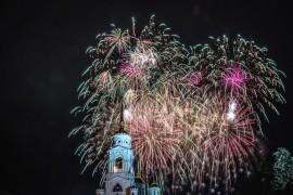 Владимиру 1026 лет. Салют на День Города (2016)