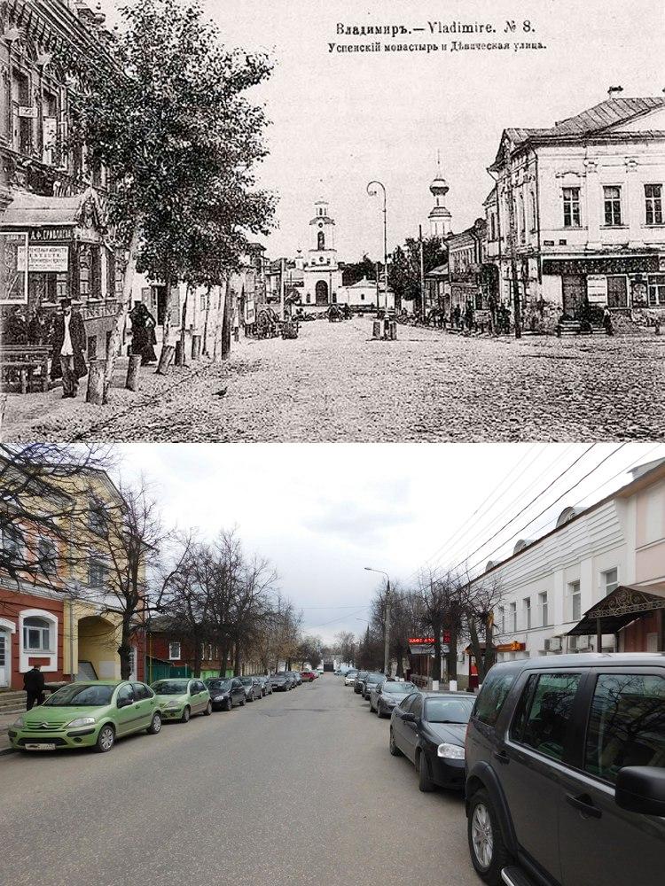 Девическая улица во Владимире