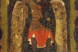 Икона «Явление архангела Михаила Иисусу Навину»