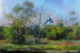 Пейзажи владимирской области в работах Александра Филиппова