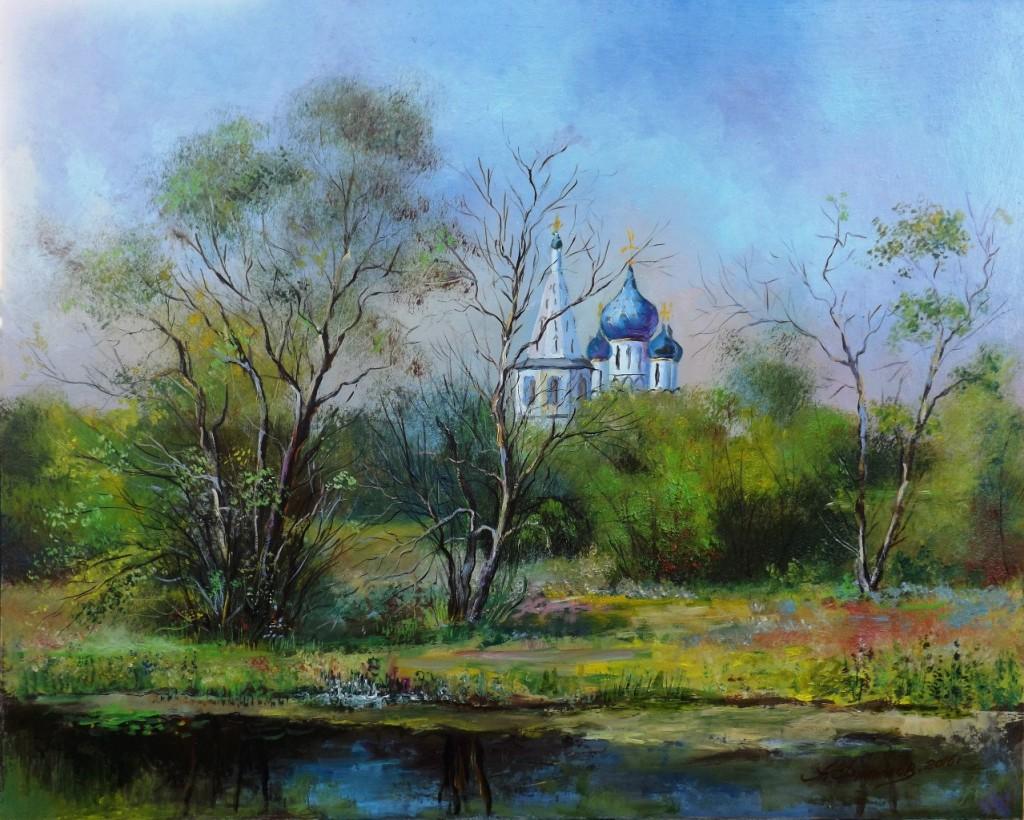 Пейзажи владимирской области в работах Александра Филиппова 01