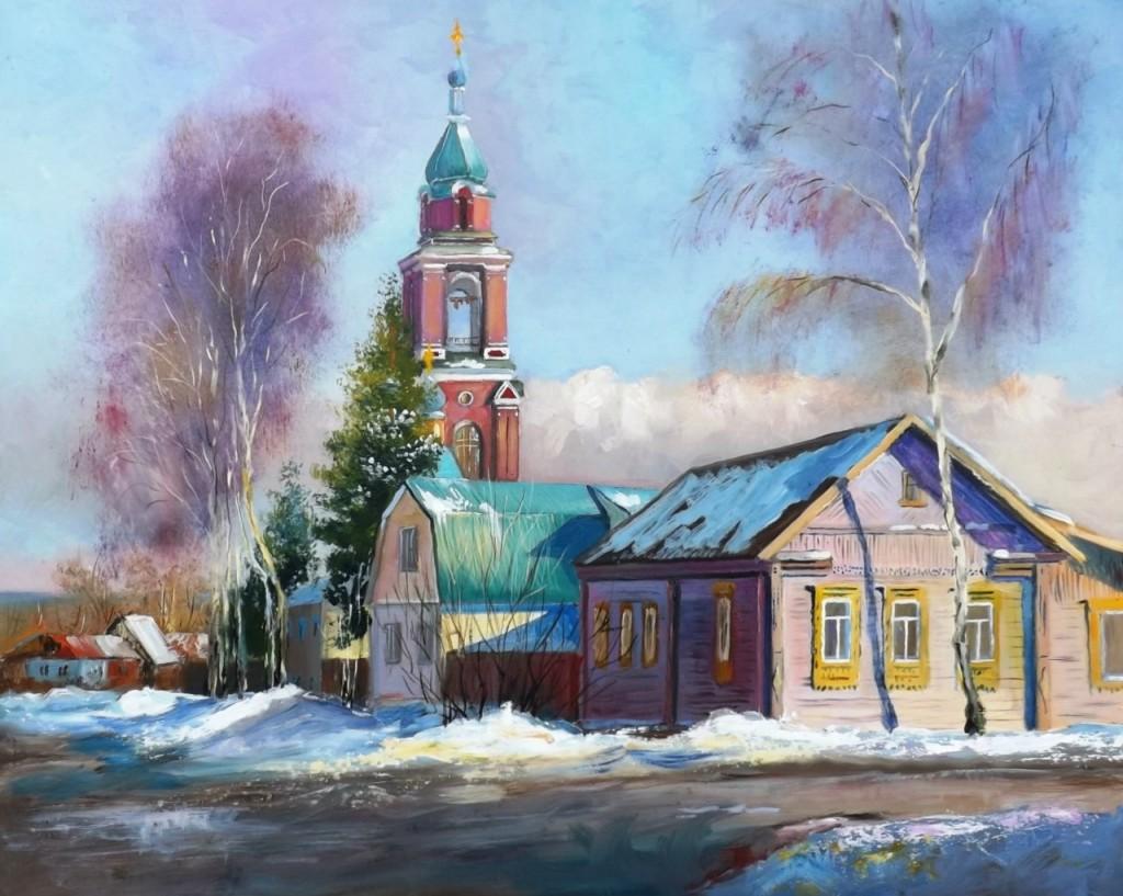 Пейзажи владимирской области в работах Александра Филиппова 03