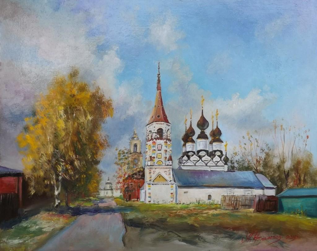 Пейзажи владимирской области в работах Александра Филиппова 06