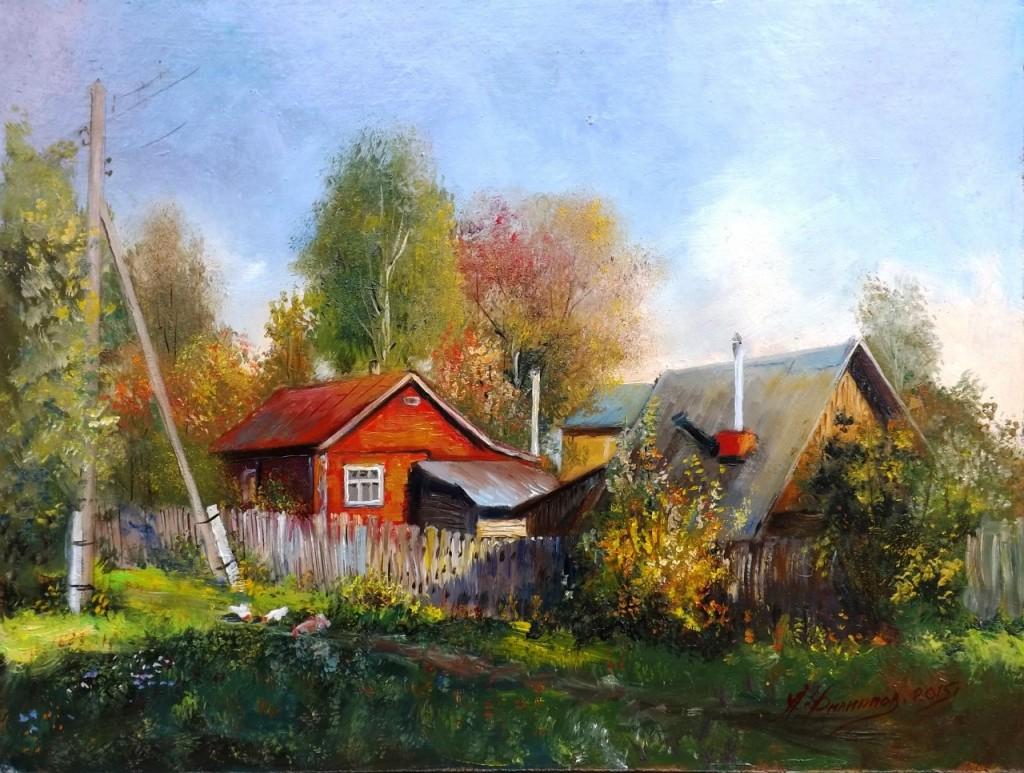 Пейзажи владимирской области в работах Александра Филиппова 07
