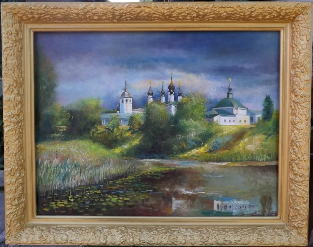 Пейзажи владимирской области в работах Александра Филиппова 09