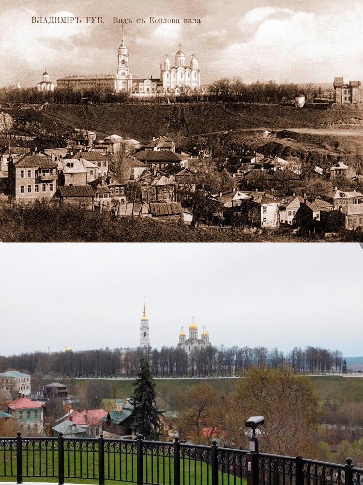 Первый городской бульвар во Владимире