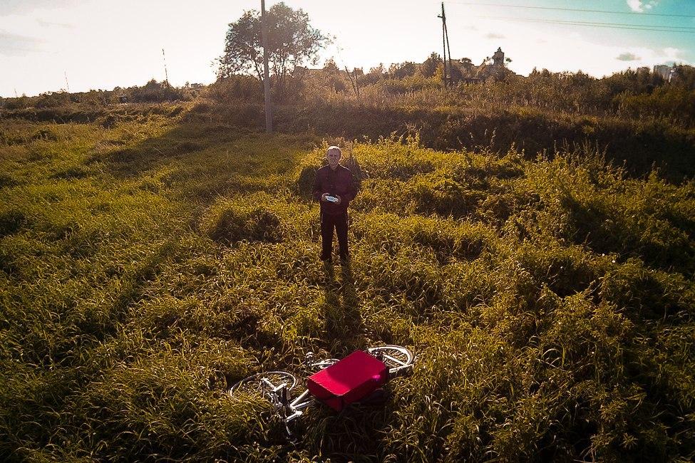 Пойма Клязьмы, поле и вид на юго-запад 04