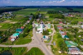 Полет над селом Лазарево