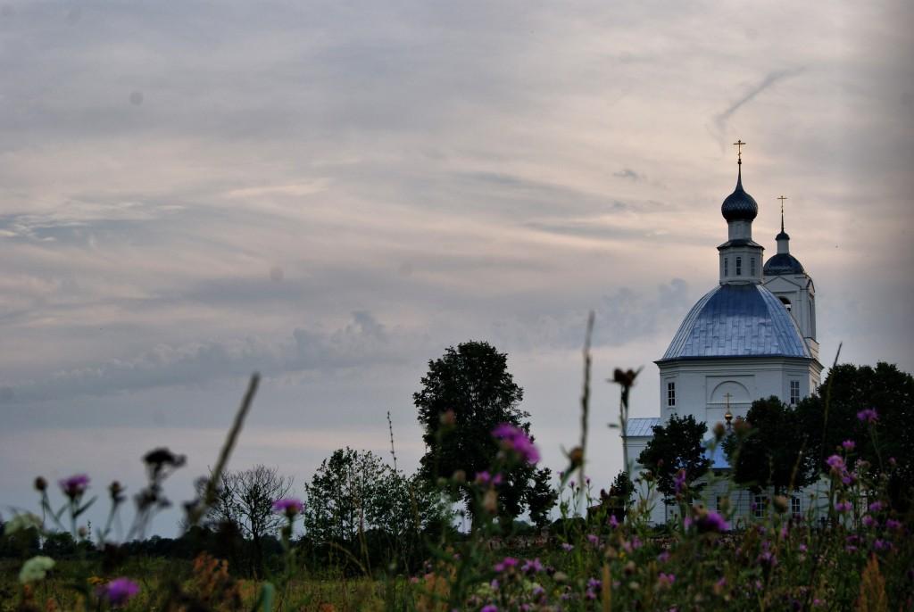 Село Устье, Собинский район. Церковь Николая Чудотворца
