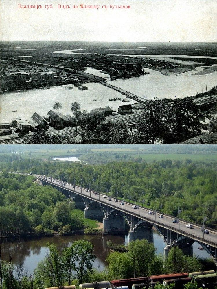 Старый-Новый Владимир - мост через реку Клязьму
