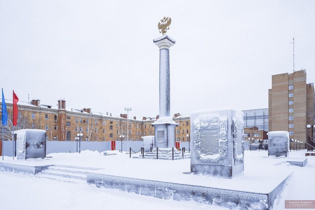 Стела «Город Ковров — город воинской славы» 01
