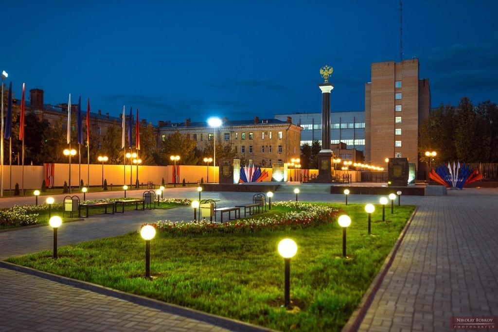 Стела «Город Ковров — город воинской славы» 06