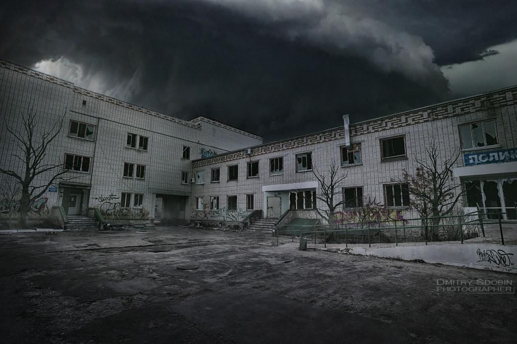 ЦРБ в городе Меленки после наступления конца света