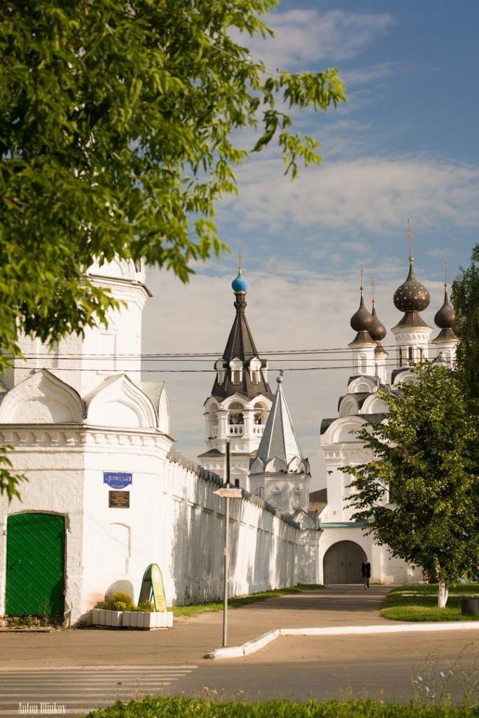 г. Муром, лето в Благовещенском монастыре
