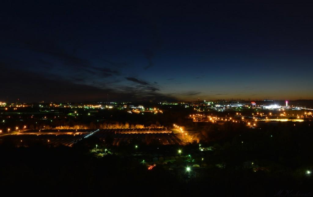 Вид на ночной Владимир из доброго 03