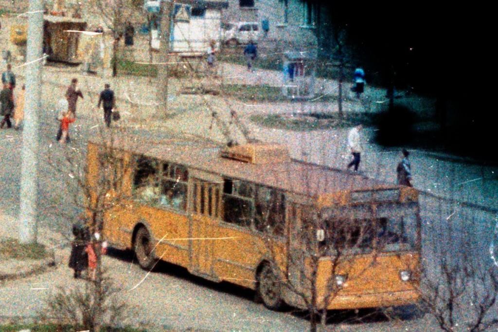 Владимир, ЗиУ-682В [В00] № 124 — маршрут 1 Улица Егорова Автор: Alex_George. Дата: Март 1992 г.