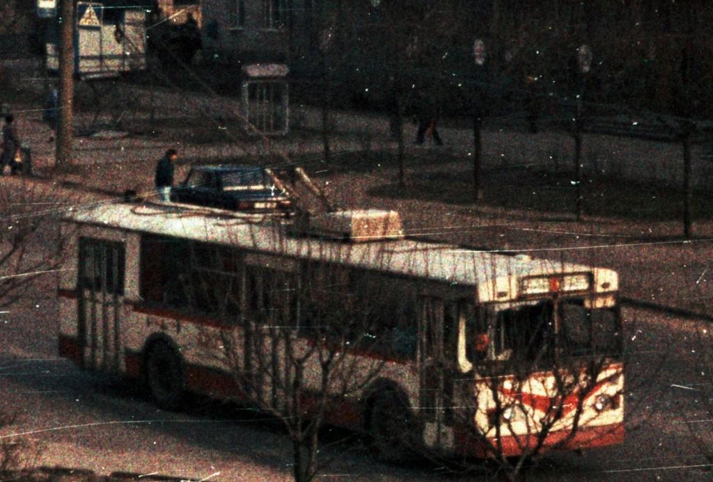 Владимир, ЗиУ-682В [В00] № 397 — маршрут 1 Улица Егорова Автор: Alex_George. Дата: Март 1992 г.