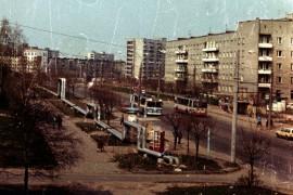 Доброе, ул. Егорова 1992 г.: Фото троллейбусов Владимира
