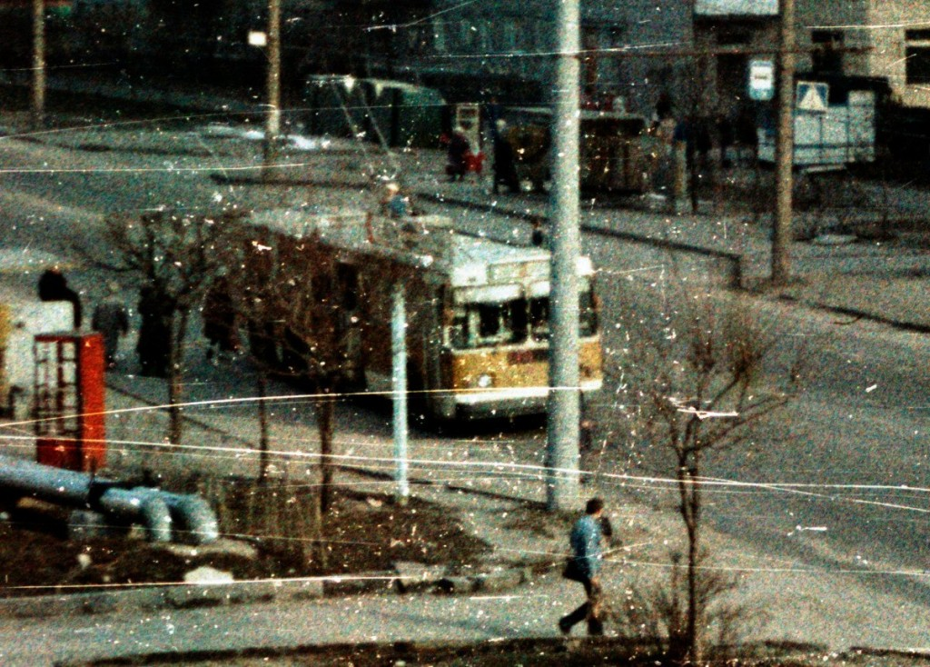 Владимир, ЗиУ-682Г [Г00] № 117 — маршрут 1 Улица Егорова Автор: Alex_George. Дата: Март 1992 г.