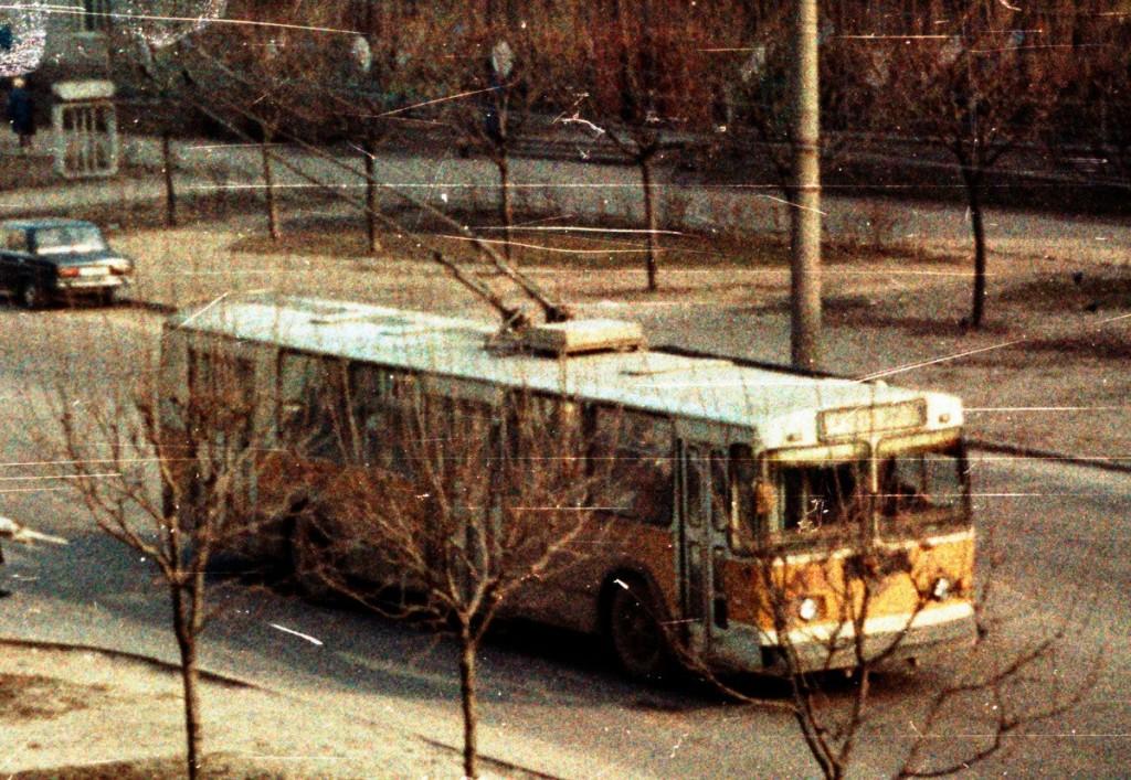 Владимир, ЗиУ-682Г [Г00] № 499 — маршрут 12 Улица Егорова Автор: Alex_George. Дата: Март 1992 г.