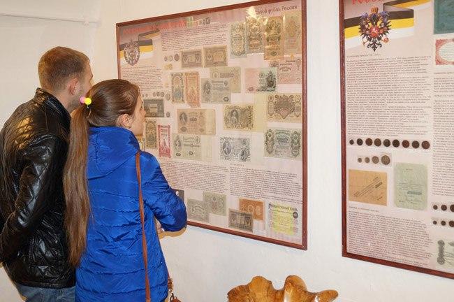 Выставка «История денег России в монетах и банкнотах» 04