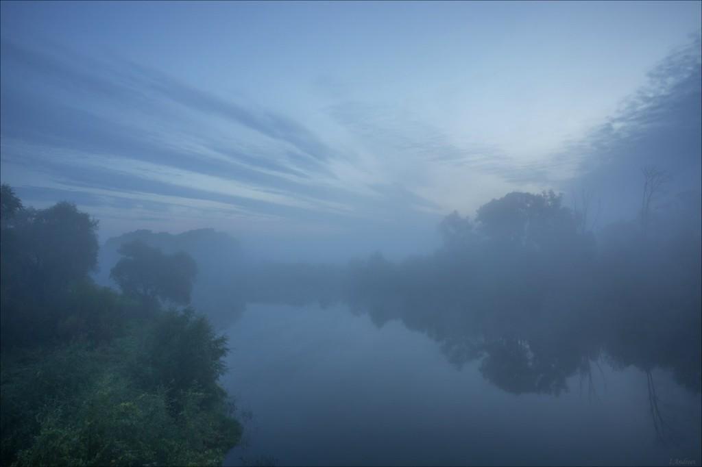 В сентябрьский восход у р.Нерль и её окрестностей (Боголюбовский луг) 01