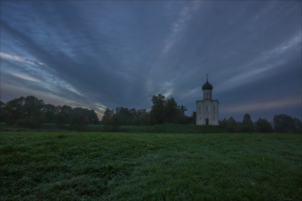 В сентябрьский восход у р.Нерль и её окрестностей (Боголюбовский луг) 03