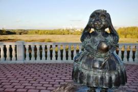 Город Киржач, смотровая площадка «Зайчушка»