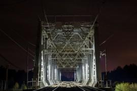 Ж/д мост на границе Московской и Владимирской обл