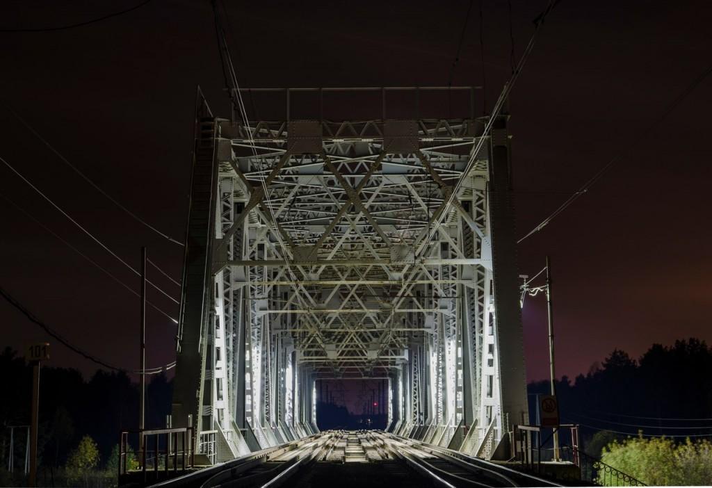Жд мост на границе Московской и Владимирской обл 01
