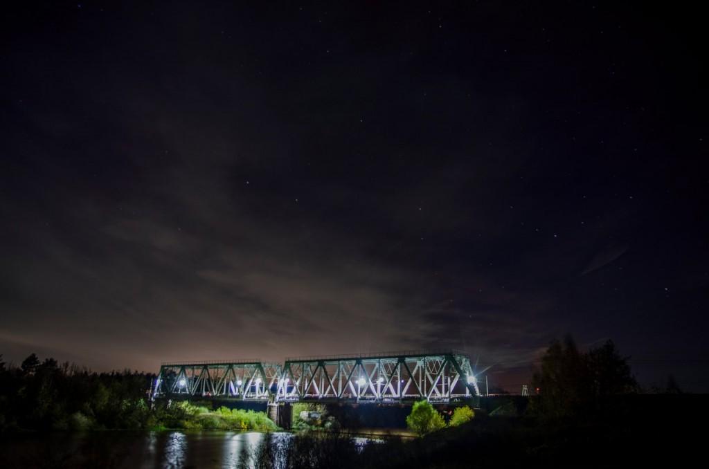 Жд мост на границе Московской и Владимирской обл 03