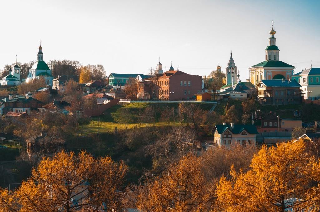 Золотая осень во Владимире 2016 01