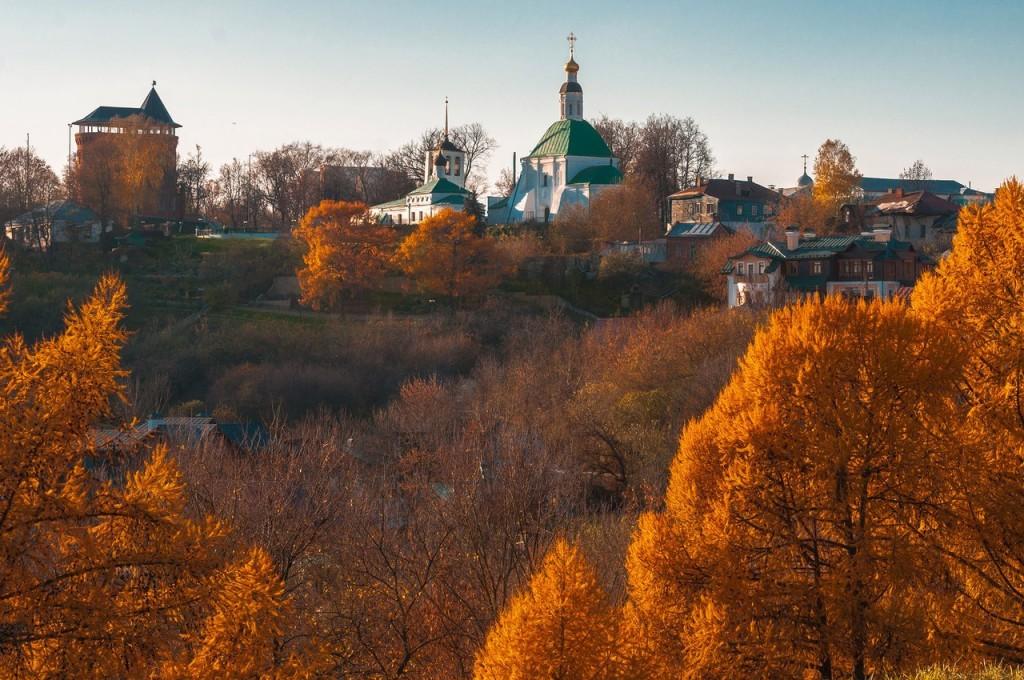 Золотая осень во Владимире 2016 04