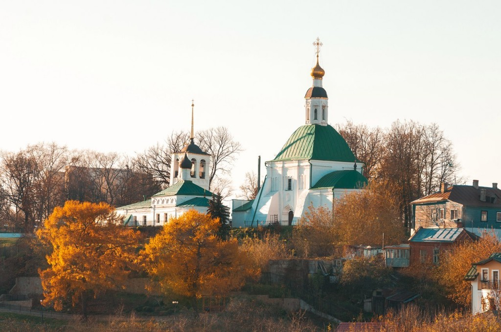 Золотая осень во Владимире 2016 05